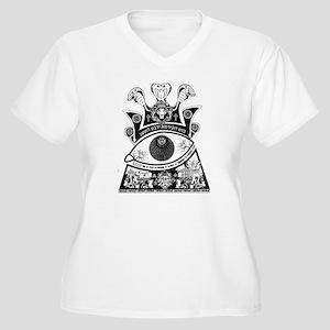Consumer Slavery for light shirt Plus Size T-Shirt