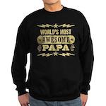 Awesome Papa Sweatshirt (dark)