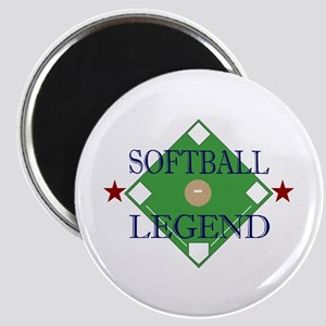 Softball Legend Magnet