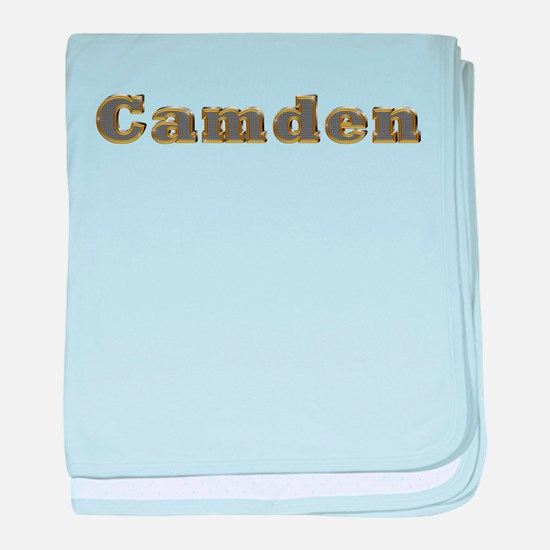 Camden Gold Diamond Bling baby blanket