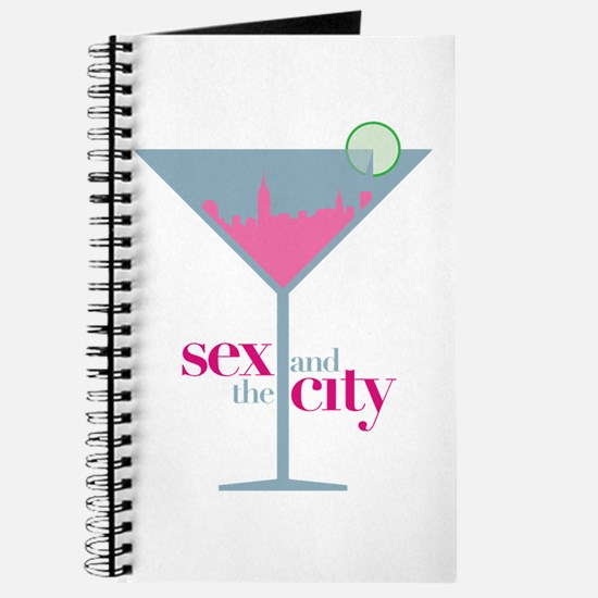 Sex And The City Martini Glass Journal