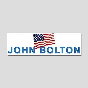 John Bolton 2016 Car Magnet 10 x 3