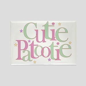 Cutie Patootie Rectangle Magnet