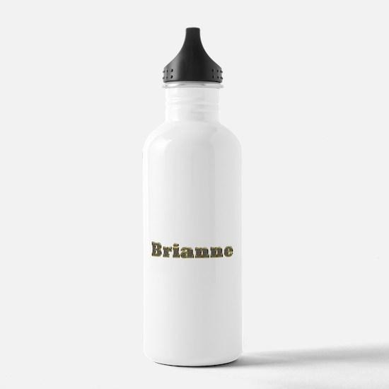 Brianne Gold Diamond Bling Water Bottle