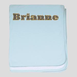 Brianne Gold Diamond Bling baby blanket