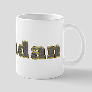 Brendan Gold Diamond Bling Mugs