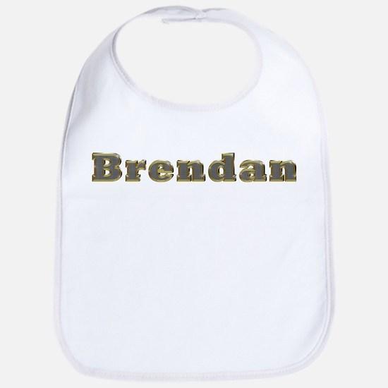Brendan Gold Diamond Bling Bib