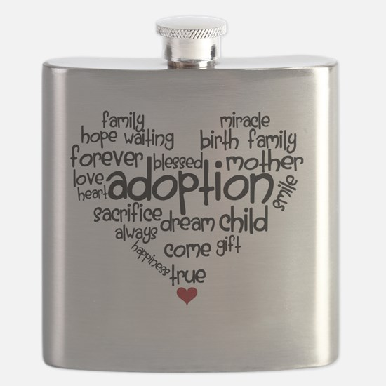 Adoption words heart Flask