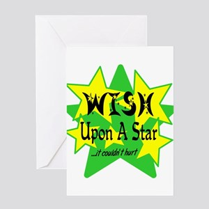 Wish Upon A Star Greeting Cards