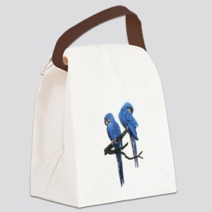 Hyacinth macaws Canvas Lunch Bag