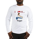 I Love Yoga Long Sleeve T-Shirt