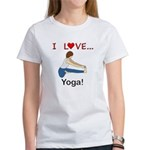 I Love Yoga Women's T-Shirt