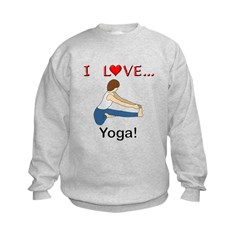 I Love Yoga Sweatshirt