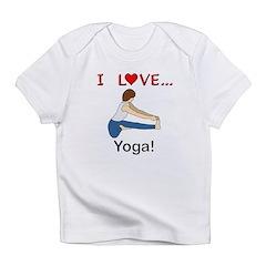 I Love Yoga Infant T-Shirt
