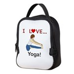I Love Yoga Neoprene Lunch Bag