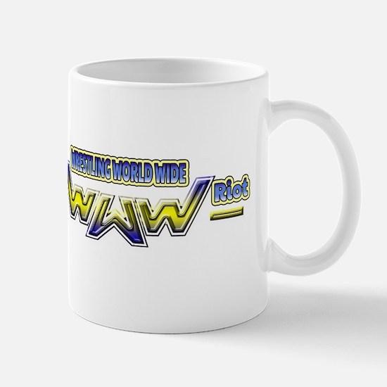 Rasslin Riot logo Mugs