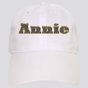 Annie Gold Diamond Bling Baseball Cap