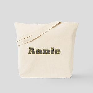 Annie Gold Diamond Bling Tote Bag