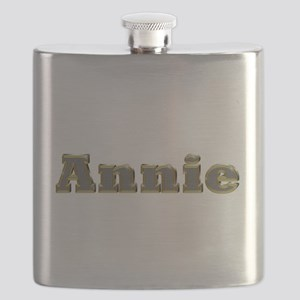 Annie Gold Diamond Bling Flask