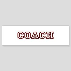COACH Bumper Sticker