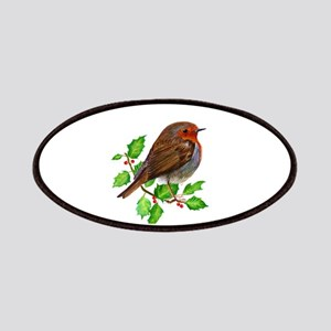 Robin Bird, Robin Redbreast, Painting Patch