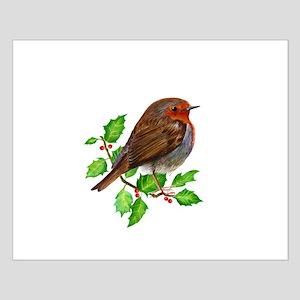 Robin Bird, Robin Redbreast, Painting Poster Desig