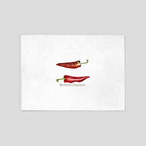 Romano Pepper Watercolour / watercolor painting 5'