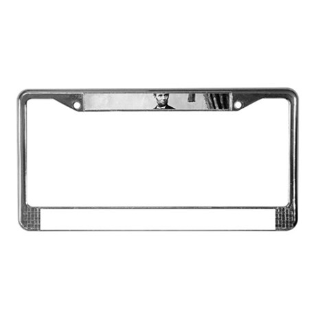abraham lincoln License Plate Frame by Admin_CP13506533