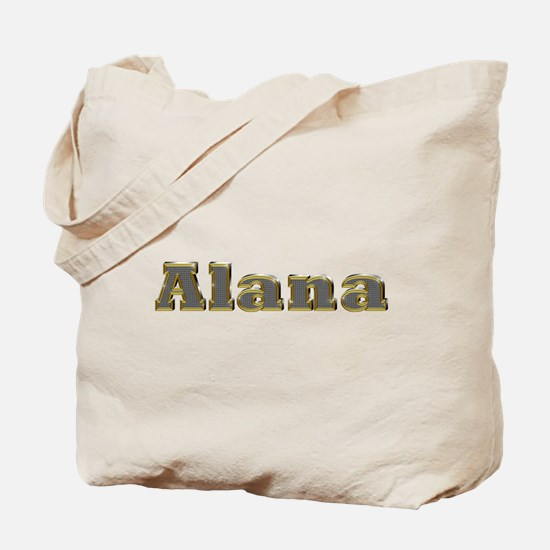 Alana Gold Diamond Bling Tote Bag