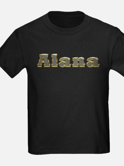 Alana Gold Diamond Bling T-Shirt