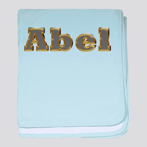 Abel Gold Diamond Bling baby blanket