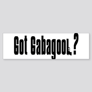 Got Gabagool? Bumper Sticker
