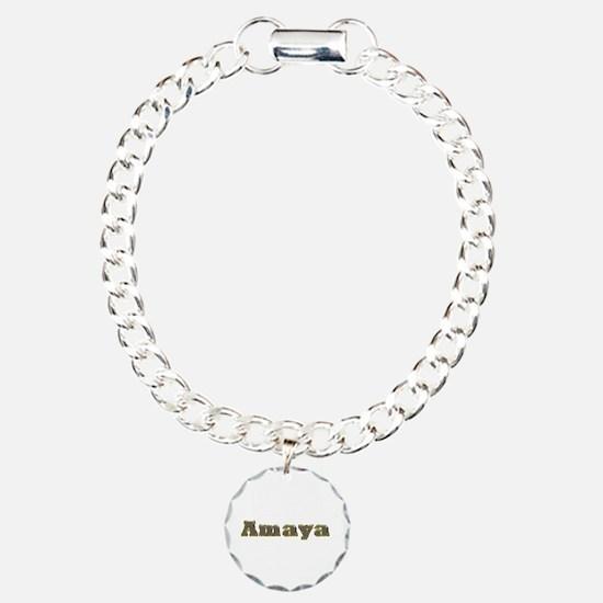 Amaya Gold Diamond Bling Bracelet