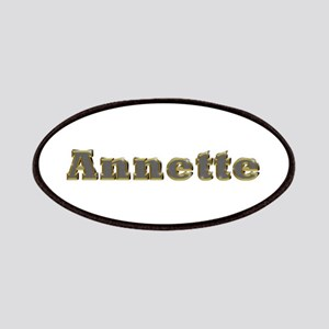 Annette Gold Diamond Bling Patch
