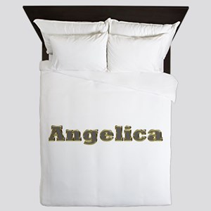 Angelica Gold Diamond Bling Queen Duvet