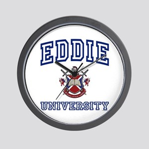 EDDIE University Wall Clock