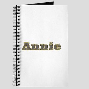 Annie Gold Diamond Bling Journal