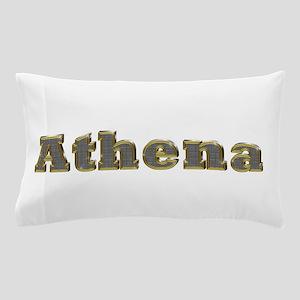 Athena Gold Diamond Bling Pillow Case