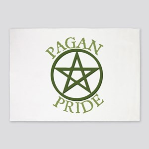Pagan Pride 5'x7'Area Rug