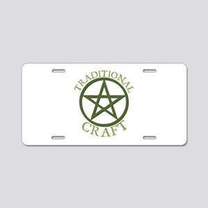 Traditional Craft Aluminum License Plate
