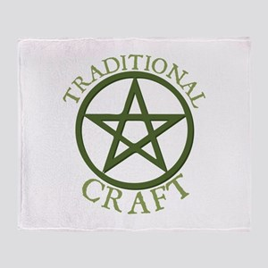 Traditional Craft Throw Blanket