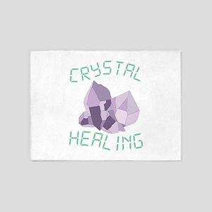 Crystal Healing 5'x7'Area Rug