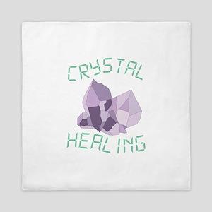 Crystal Healing Queen Duvet
