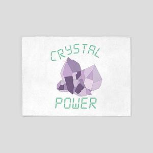 Crystal Power 5'x7'Area Rug