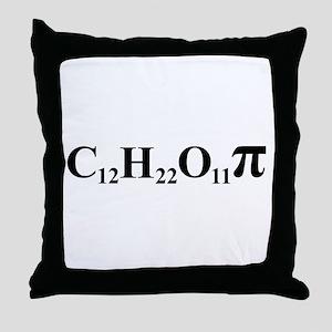 Sugar Pi Throw Pillow