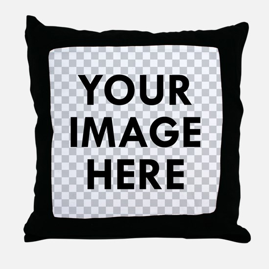 CUSTOM Your Image Throw Pillow