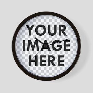 CUSTOM Your Image Wall Clock