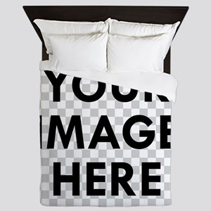 CUSTOM Your Image Queen Duvet