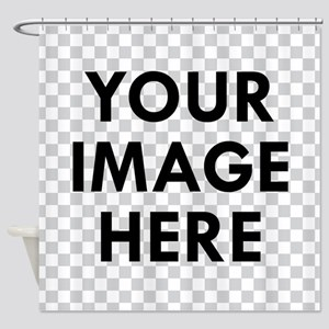 CUSTOM Your Image Shower Curtain