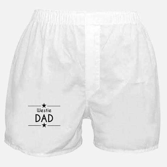 Westie Dad Boxer Shorts